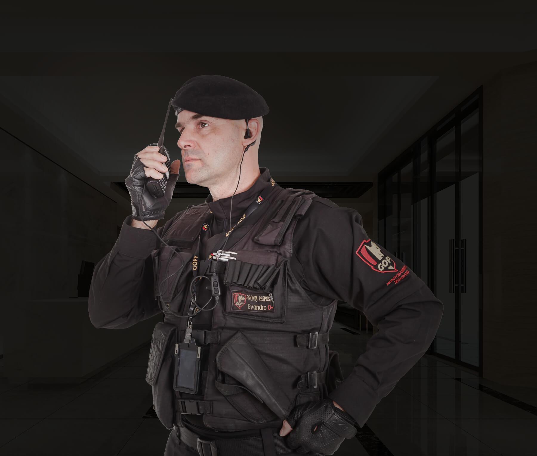 portaria e segurança Gopp